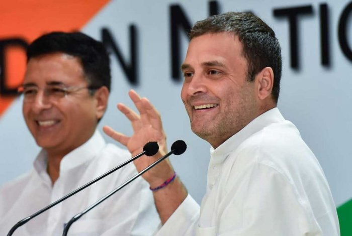 Congress president Rahul Gandhi's announcement of a minimum cash transfer of Rs 6,000 per month to five crore poor families under the NYAYscheme showed that the BJP no longer has the comfort of setting the agenda on the issue of poverty in the campaign. (PTI File Photo)
