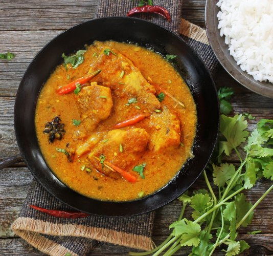 Bengali Fish Curry, Doi Maach