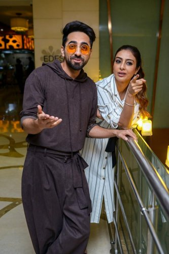 """Thriller drama """"Andhadhun"""", directed by Sriram Raghavan, earned over Rs 200 crore at the box office in China, the makers announced on Monday. PTI file photo"""