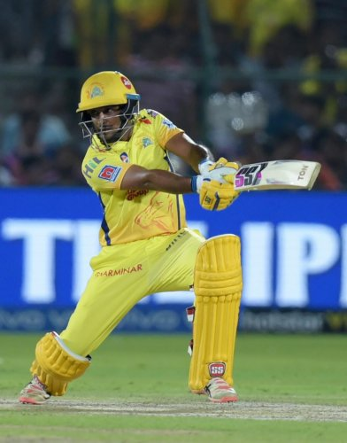 TOUGH TIMES: Having failed to make the World Cup squad cut, Ambati Rayudu will be looking to overcome that disappointment with a strong show for Chennai Super Kings. PTI