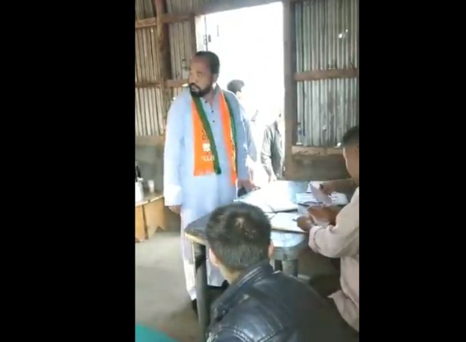 The Congress has filed an FIR against Nagaland Deputy Chief Minister Y Patton for allegedly violating the model code of conduct during the April 11 Lok Sabha poll in the state. Screen grab