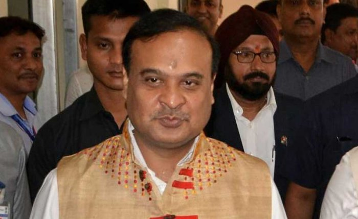 The channel, run by Himanta Biswa Sarma's wife, constantly favours the BJP and downplays the Congress according to the complaint. PTI file photo.