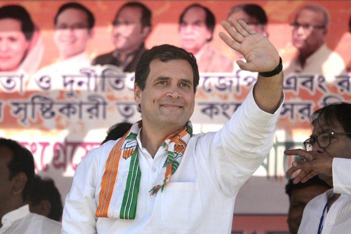Congress chief Rahul Gandhi has assets worth over 15.88 crore, according to the affidavit filed by him on Thursday while submitting his nomination papers for Wayanad Lok Sabha seat. File photo
