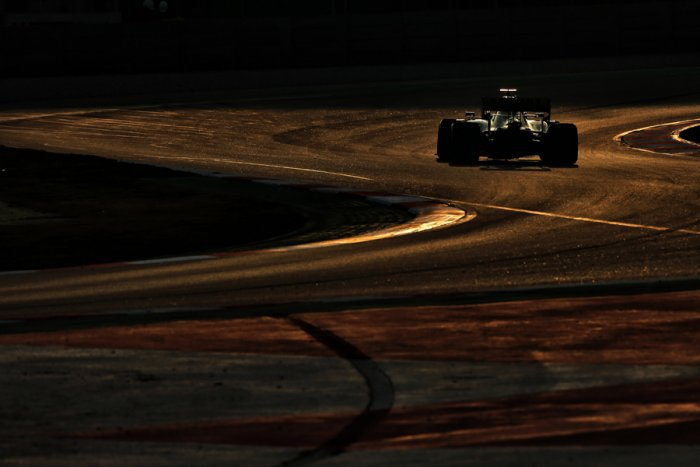 Renault's German driver Nico Hulkenberg in action in Barcelona. Picture credit: Renault Sport F1