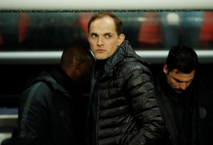 Paris St Germain coach Thomas Tuchel. Reuters