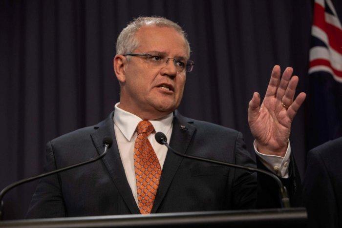 Prime Minister Scott Morrison. Reuters File photo