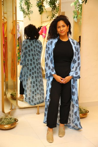 Masaba Gupta at her new store on Lavelle Road.