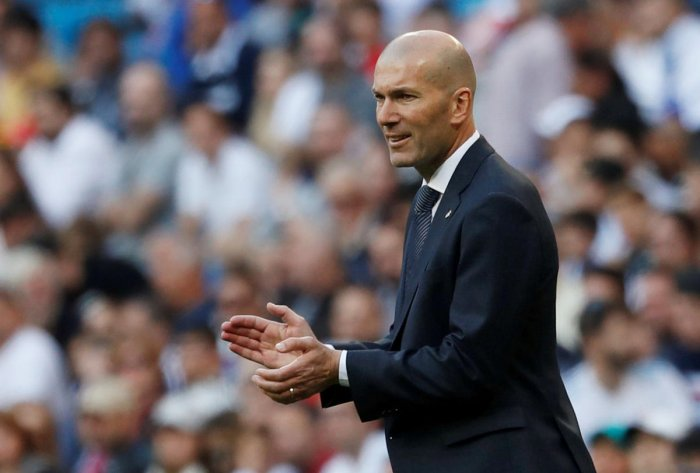 Zinedine Zidane. REUTERS