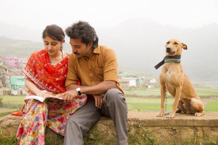 Shweta Tripathi Sharma in 'Mehandi Circus' with Madhampatty Rangaraj.