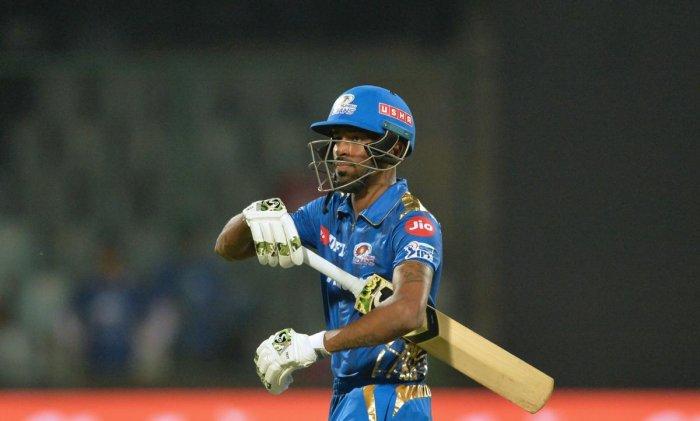 Mumbai Indians all-rounder Hardik Pandya. AFP
