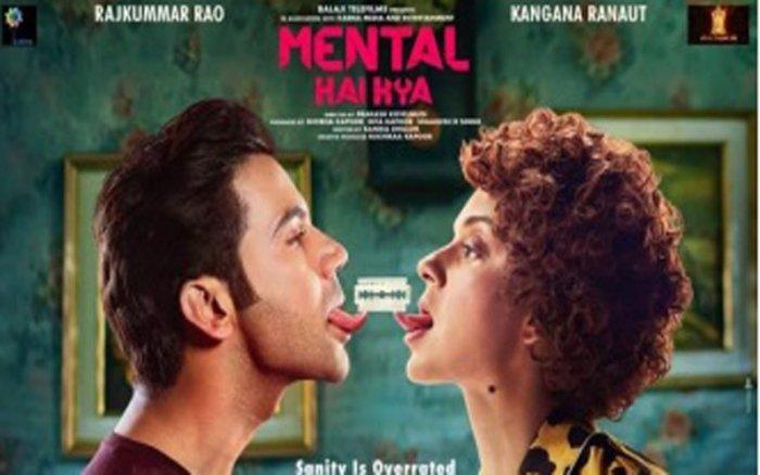 Bollywood movie 'Mental Hai Kya'.