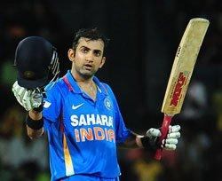 Gambhir, Raina star in India's five-wicket win