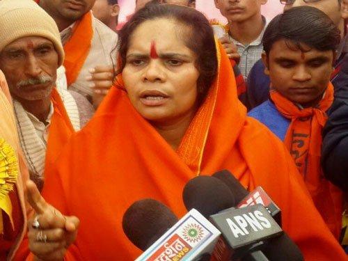 SP leader calls  for killing of  Sadhvi Prachi
