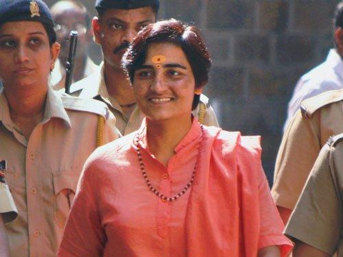 Seeking Kumbh visit, Sadhvi Pragya launches hunger strike