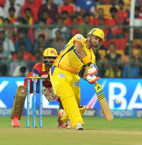 Raina to miss CSK's next two games