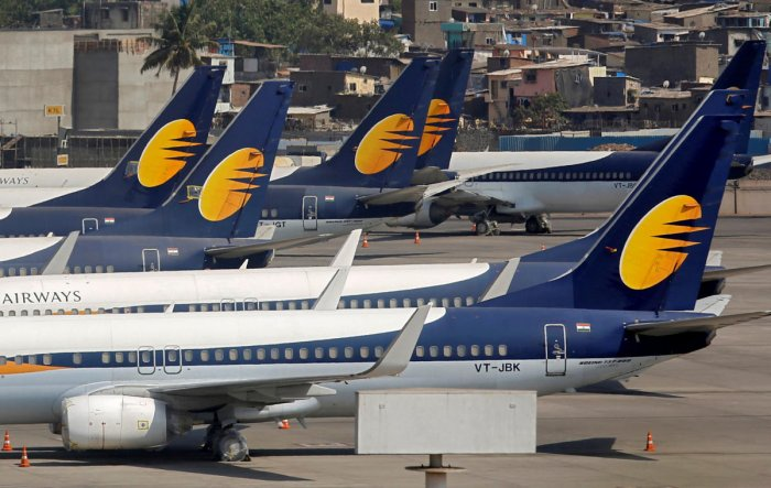 Cash-starved Jet Airways, which has around 23,000 employees, has delayed payment of salaries to the employees, including pilots. Reuters file photo