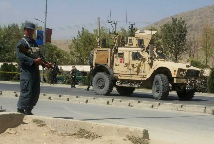 The attack occurred a day after talks fell apart between the Taliban and Afghan representatives. No one claimed immediate responsibility and there was no immediate word on casualties. Reuters file photo for representation
