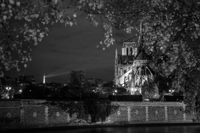 """A view of the Notre-Dame Cathedral from the back, shot by Dr Rafael Ayoub. """"The most famous view is from the front, with the towers, But I always love this view from the back,"""" he says."""