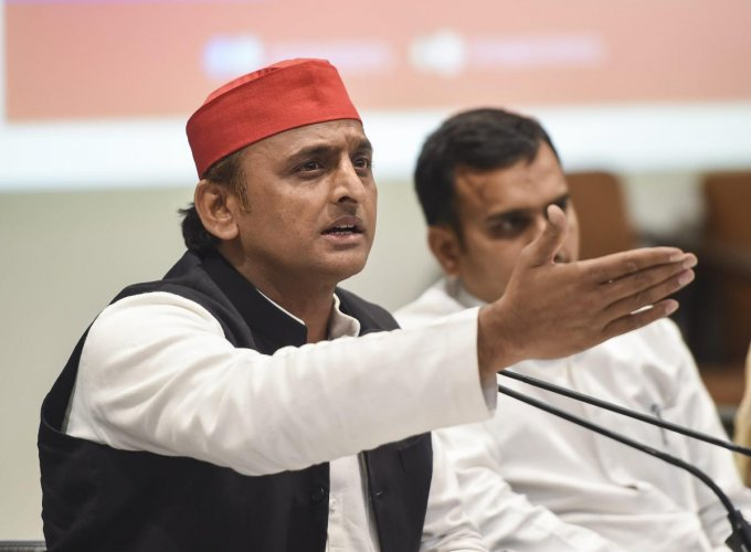 Akhilesh also sought a special court to ''try'' people like Adityanath, who, he said would never stop making derogatory comments on their rivals. (PTI Photo)