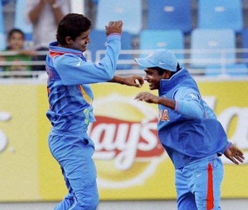 Kuldeep hat-trick propels India