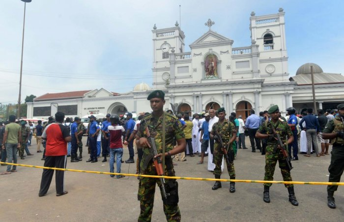 Sri Lanka's Easter on Sunday bomb attacks were retaliation for a recent attack on mosques in New Zealand, a Sri Lankan official said on Tuesday, adding that two domestic Islamist groups were believed to be responsible. AFP file photo