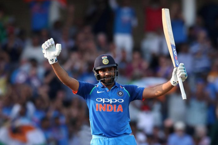 Rohit Sharma, to the delight of the many India fans in a sun-drenched capacity crowd of over 17,000, then made an unbeaten century as the tourists won by eight wickets with a mammoth 59 balls to spare. Reuters Photo