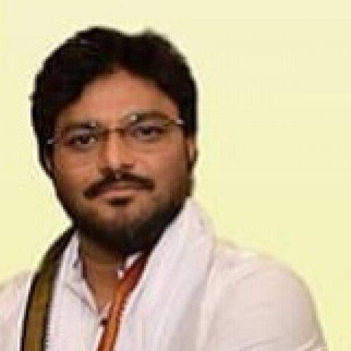 BJP candidate Babul Supriyo campaigning in Asansol.