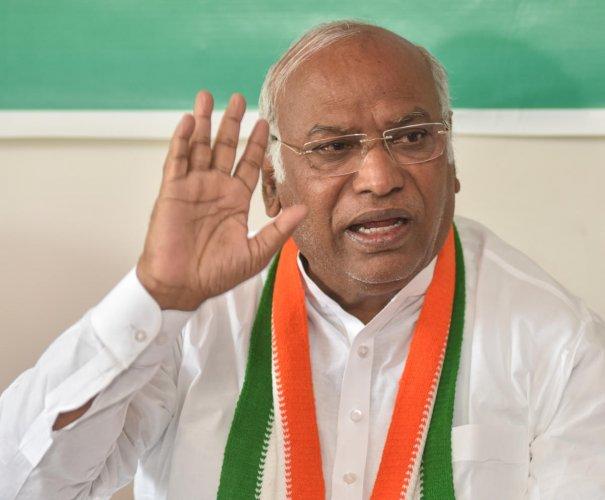 Image result for M. Mallikarjun Kharge