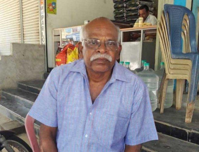 G Chandraiah (DH/PV photo)