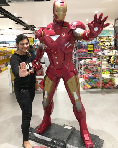 Kirthi Shenoy, Marvel fan, bought IMAX tickets for Friday.