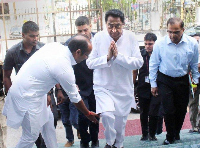 Madhya Pradesh Chief Minister Kamal Nath. (PTI File Photo)