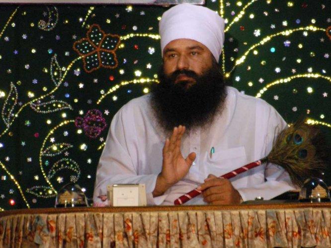 Gurmeet Ram Rahim Singh. File photo