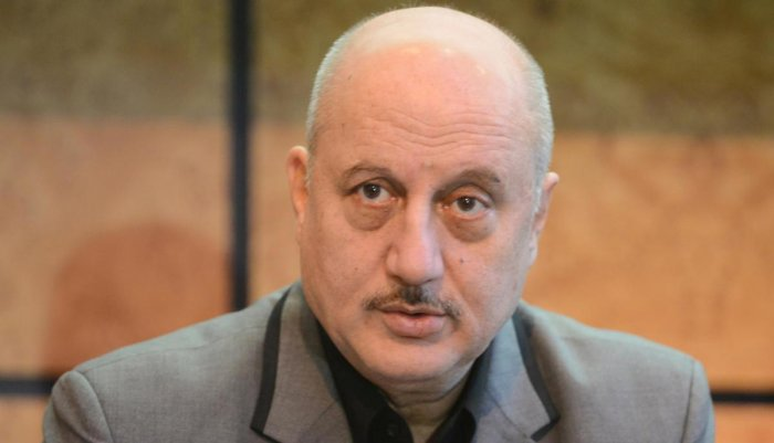 Exuding confidence in Modi's leadership, Kher said that under the prime minister the country was moving forward. (File Photo)