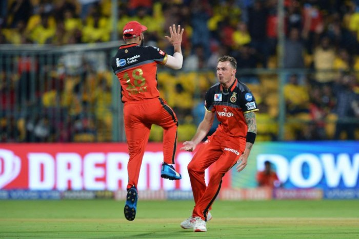 The veteran South African fast bowler, who had recently joined RCB as a replacement for injured Nathan Coulter-Nile, was forced to sit out of the match against Kings XI Punjab here on Wednesday after he picked up a niggle. (AFP Photo)