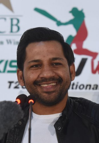 Sarfraz Ahmed. AFP