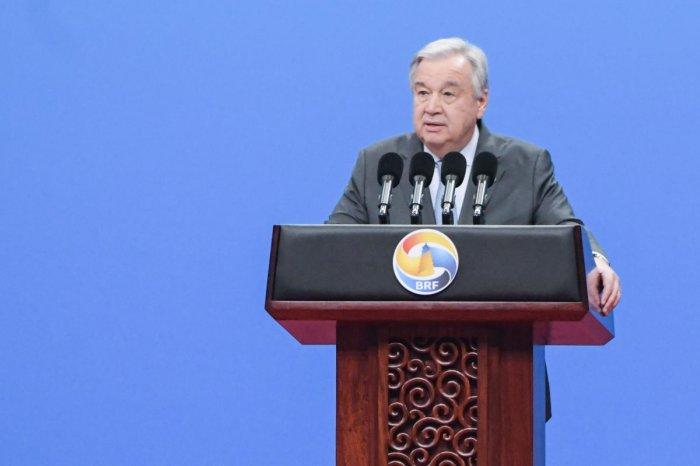 UN Secretary-General Antonio Guterres. AFP