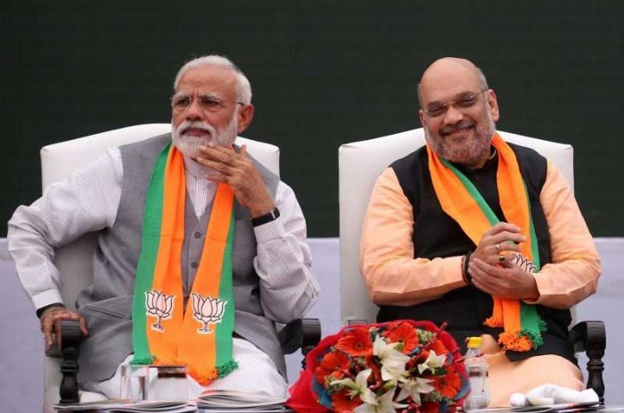 The Modi-Shah duo is singularly distinct, even by the standards of previous National Democratic Alliance governments. AFP file photo