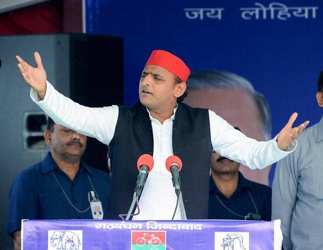 Samajwadi Party President Akhilesh Yadav (PTI File Photo)