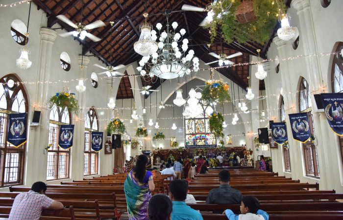 With the Home Department in Karnataka sounding high alert across the state, several churches have sent out multiple advisories to devotees and members of the parish regarding masses on Sunday (observed as Divine Mercy Sunday by the Roman Catholic Church).
