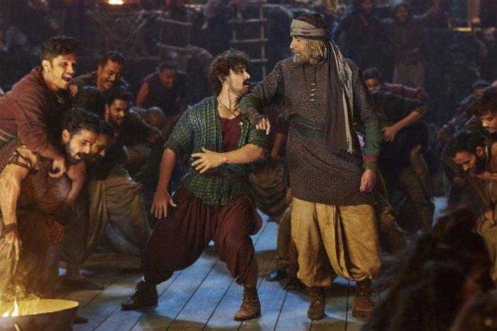 Con Khan? Aamir Khan in ''Thugs Of Hindostan'.