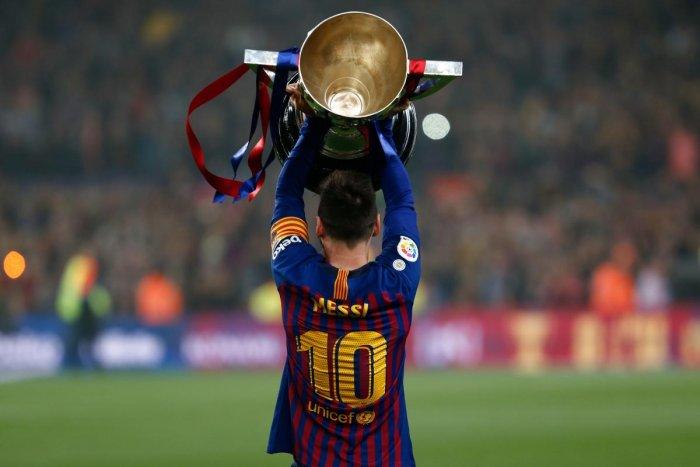 LEGEND: Barcelona captain Lionel Messi. AFP