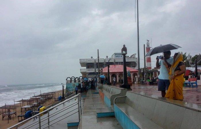 Gopalpur beach, in Ganjam (PTI File Photo)