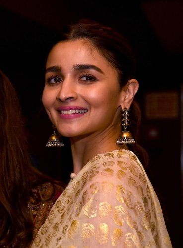 "Alia revealed it was the original star of ""Sadak"", Sanjay Dutt, who convinced Bhatt to return to the director's chair. Bhatt's last directorial was the 1999 film ""Kartoos"". AFP File photo"