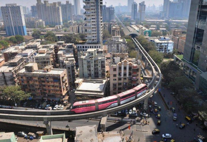 Mumbai city. PTI file photo