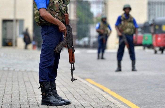 """""""Terrorist groups continue plotting possible attacks in Sri Lanka,"""" the State Department said, adding that terrorists may attack with little or no warning, targeting tourist spots, religious places other public areas. AFP File photo"""