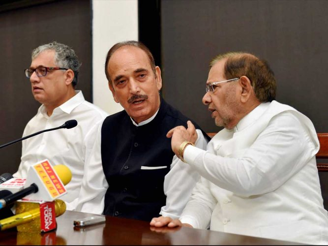 """AICC General Secretary Ghulam Nabi Azad, who was the key interlocutor in coalition talks with the BSP and AAP, asserted that Congress had always been """"generous"""" in striking alliances over the last 50 years, but it had come at a cost."""
