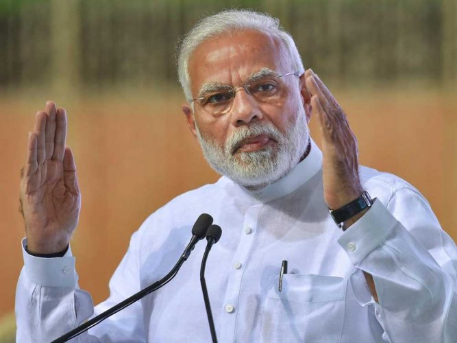 """Prime Minister Narendra Modi's ambitious """"Housing for All"""" programme may fail to pass the first milestone of building dwelling units for one crore rural households by the end of current financial year. PTI file photo"""