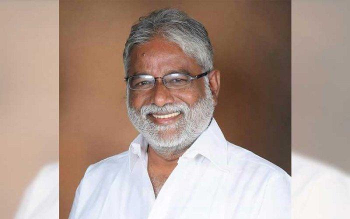 N Mahesh, the lone BSP minister in the H D Kumaraswamy Cabinet.