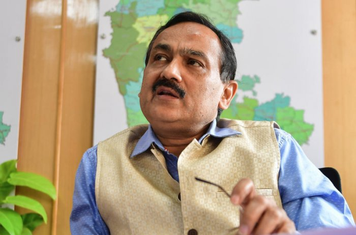 Chief Electoral Officer Sanjeev Kumar. (DH File Photo)