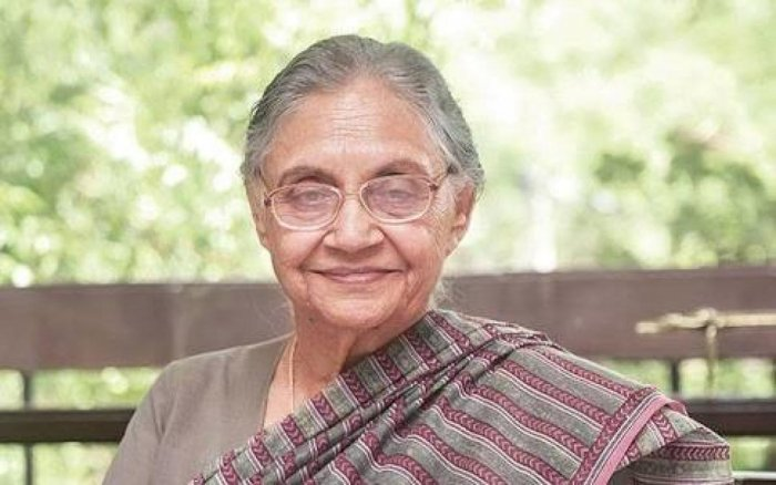 Former Delhi Chief Minister Sheila Dikshit has been appointed the Delhi Pradesh Congress Committee president after Ajay Maken resigned from the post citing ill-health. File photo
